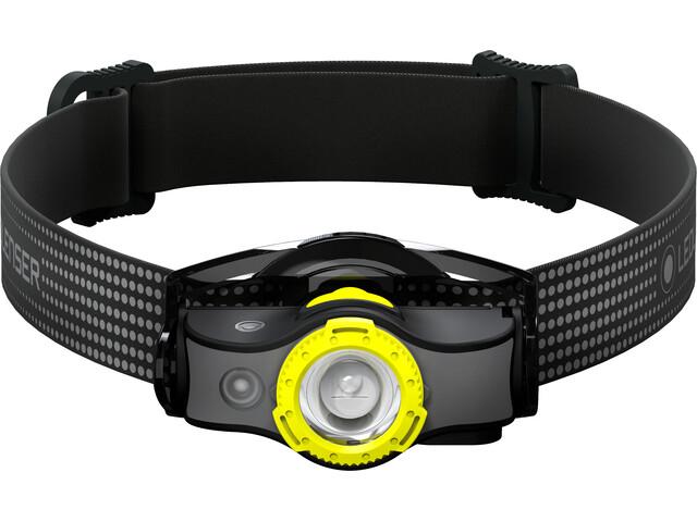Led Lenser MH5 Faretto, black/yellow